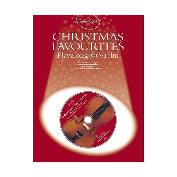 Christmas Favorites Playalong for Violin