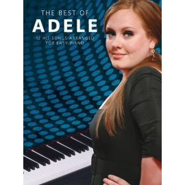 Adele Best of - 12 Hit Songs for Easy Piano