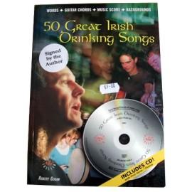 50 Great Irish Drinking Songs Bk/CD