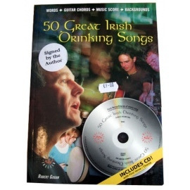 50 Great Irish Drinking Songs Bk/CD