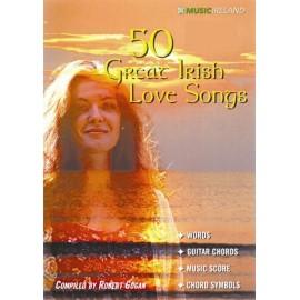 50 Great Irish Love Songs Bk/CD