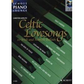 Celtic Lovesongs Schott Piano Lounge Bk/Cd