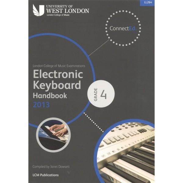 LCM Electronic Keyboard Handbook 2013 Grade 4