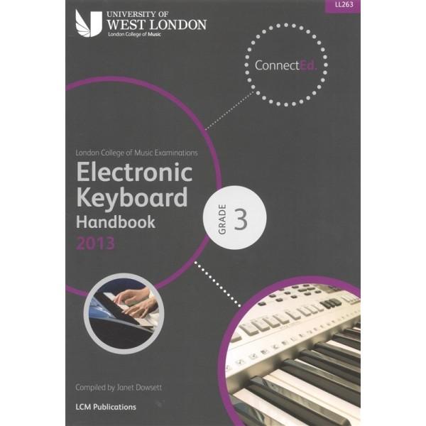 LCM Electronic Keyboard Handbook 2013 Grade 3