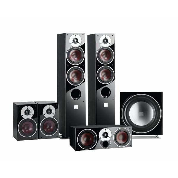 ZENSOR 5 5.1 Speaker System with E-12-F Sub - Black