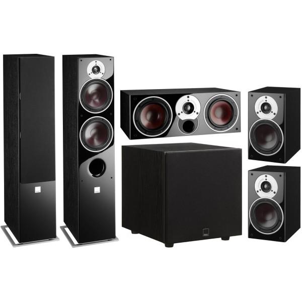 Zensor 7 5.1 Speaker System with E-12-F Sub - Black