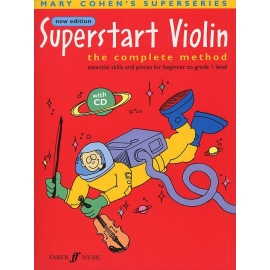 Superstart Violin The Complete Method (Bk&CD)