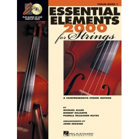 Essential Elements 2000 for Strings Violin bk 1