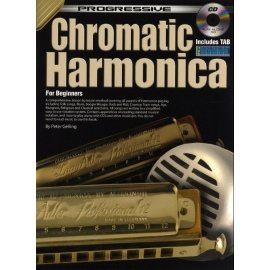 Progressive Chromatic Harmonica For Beginners