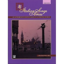 26 Italian Songs And Arias (Medium/High Voice) (Book/CD)