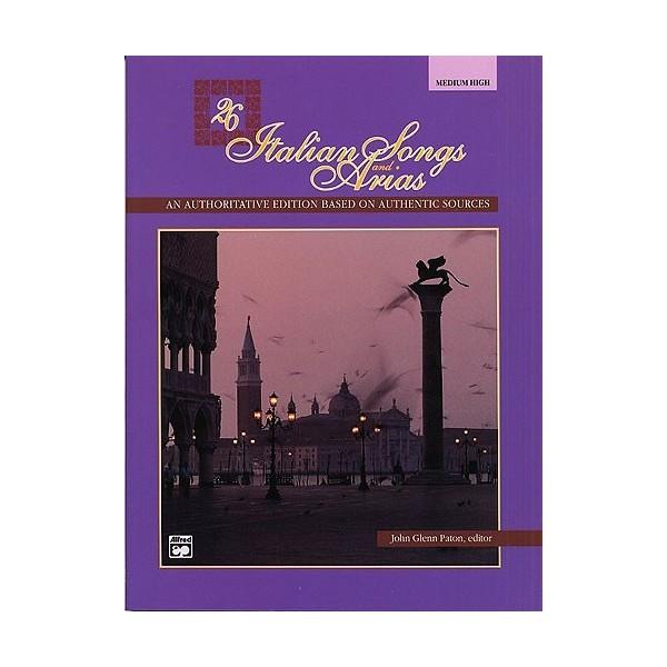 26 Italian Songs And Arias (Medium/High Voice)