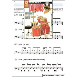 10 Easy Lessons Learn to Play Drums