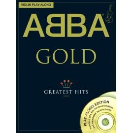 Violin Play-Along: Abba - Gold