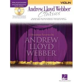 Instrumental Play-Along: Andrew Lloyd Webber Classics (Violin)
