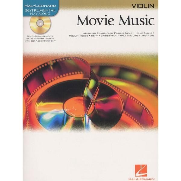 Hal Leonard Instrumental Play-Along: Movie Music (Violin)