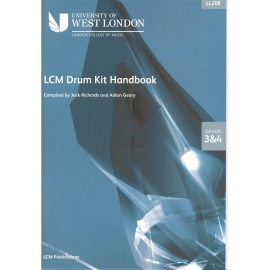 LCM Drum Kit Handbook Grades 3&4 (CD Edition)