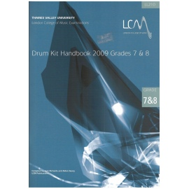 LCM Drum Kit Handbook Grades 7&8 (CD Edition)