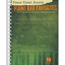 Cheat Sheets Piano Bar Favorites