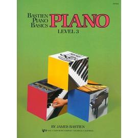 Bastien Piano Basics Piano Level 3 WP203