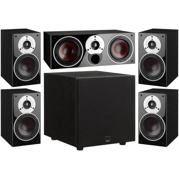 ZENSOR 1 5.1 Speaker System with E-9-F Sub - Black