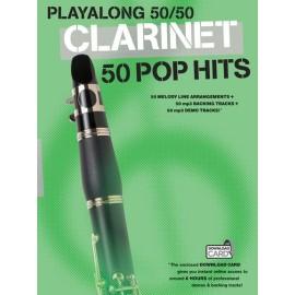 Playalong 50/50 Clarinet 50 Pop Hits