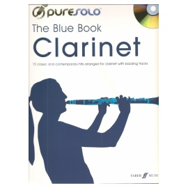 Pure Solo The Blue Book Clarinet