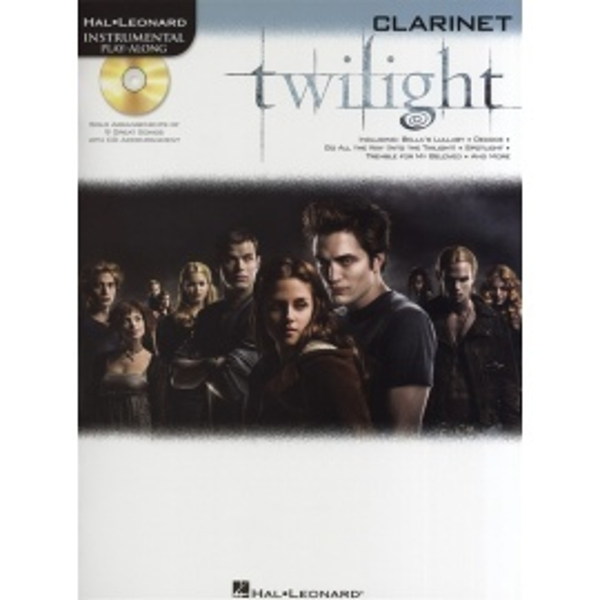 Twilight Instrumental Playalong Clarinet
