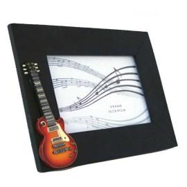 Vintage Guitar Photo Frame