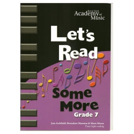 RIAM Lets Get Reading Some More Grade 7