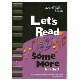 RIAM Let's Read Some More Grade 7
