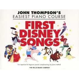 John Thompsons Easiest Piano Course: First Disney Songs