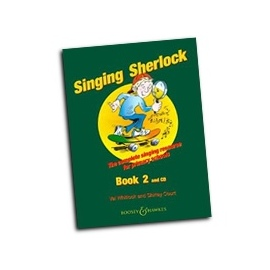 Singing Sherlock Book 2 with CD