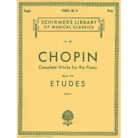 Complete Works For The Piano Book VIII Etudes