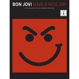 Bon Jovi - Have A Nice Day (TAB)