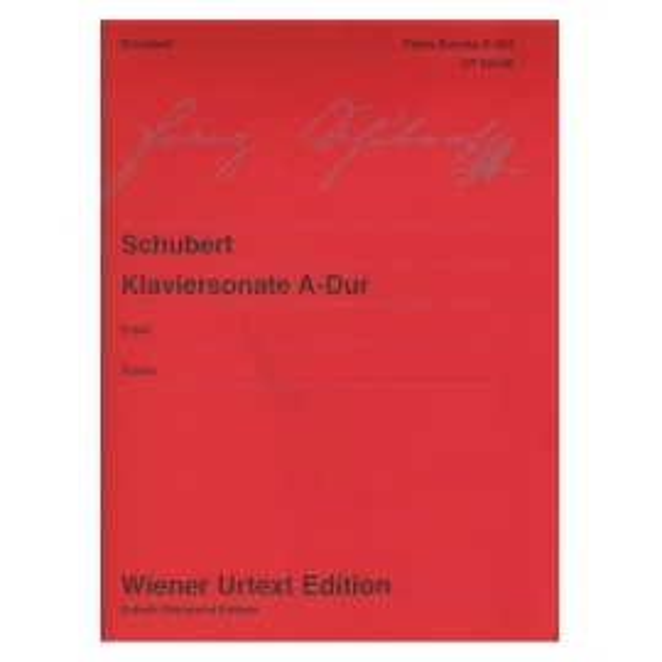 Franz Schubert - Piano Sonata in A