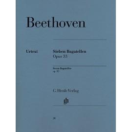 Ludwig van Beethoven - Seven Bagatelles Opus 33
