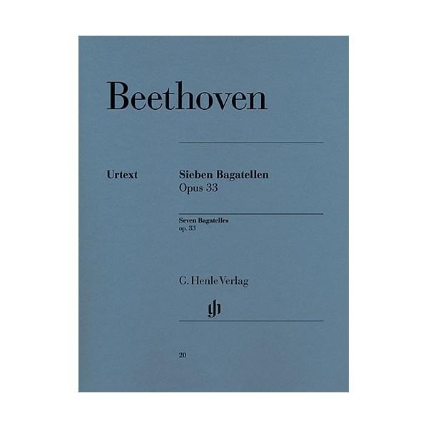 Beethoven - Seven Bagatelles Opus 33