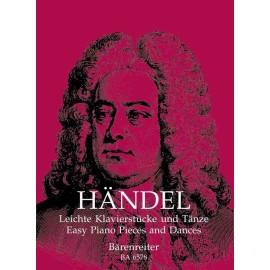 Georg Friedrich Handel - Easy Piano Pieces and Dances