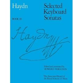 Haydn - Selected Keyboard Sonatas Book III