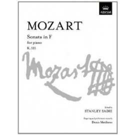 Amadeus Mozart - Sonata in F for Piano K.533