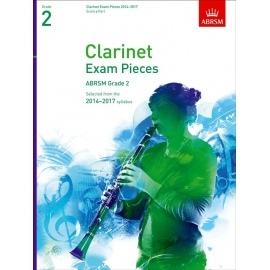 Clarinet Exam Pieces 2014-2017 Grade 2 Score and Part