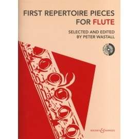 First Repertoire Pieces for Flute BK/CD