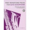 First Repertoire Pieces for Alto Saxophone BK/CD