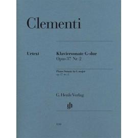 Muzio Clementi - Piano Sonata in G major Opus 37 No. 2
