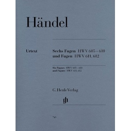 Georg Friedrich Handel - Six Fugues HWV 605-610 and Fugues HWV611, 612