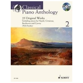 Classical Piano Anthology 2 BK/CD