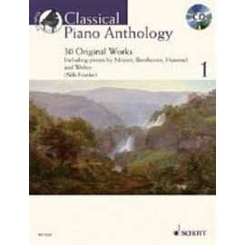 Classical Piano Anthology 1 BK/CD