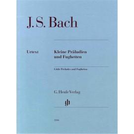 J.S. Bach - Little Preludes and Fughettas