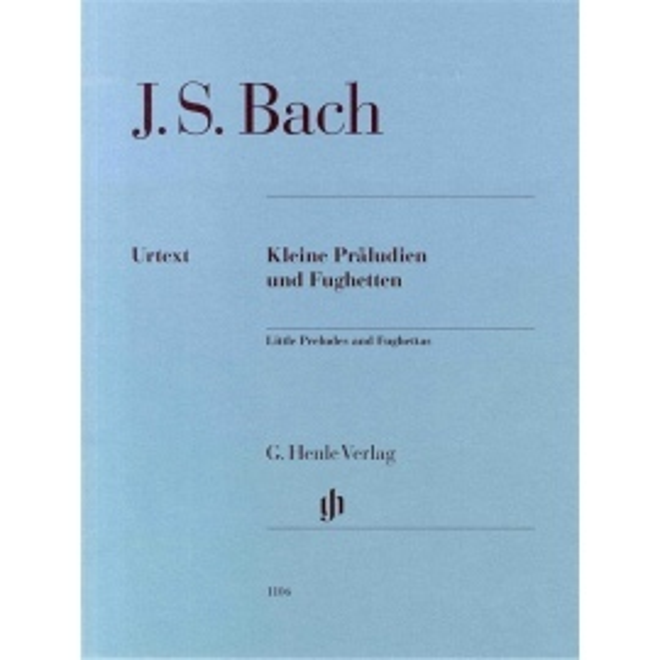 Bach - Little Preludes and Fughettas