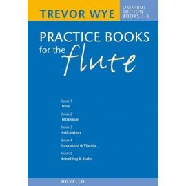 Practice Books for the Flute Books 1-5 Trevor Wye